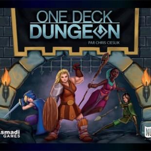 One deck Dungeon, le jeu est traduit en français