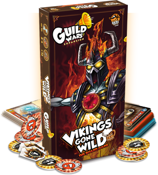 Viking gones wild-Guild WArs-Lucky Duck Games-Couv-Jeu-de-societe-ludovox