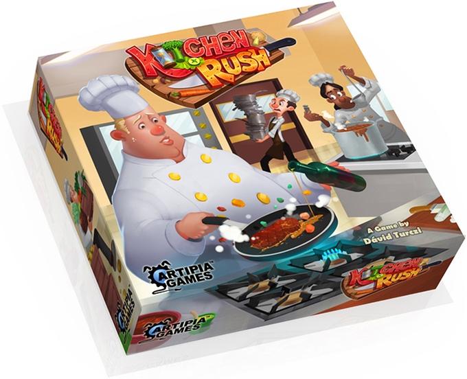 kitchen rush boite de jeu artipia