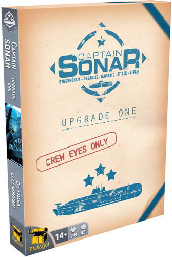 Captain S.O.N.A.R extension jeu de societe upgrade one