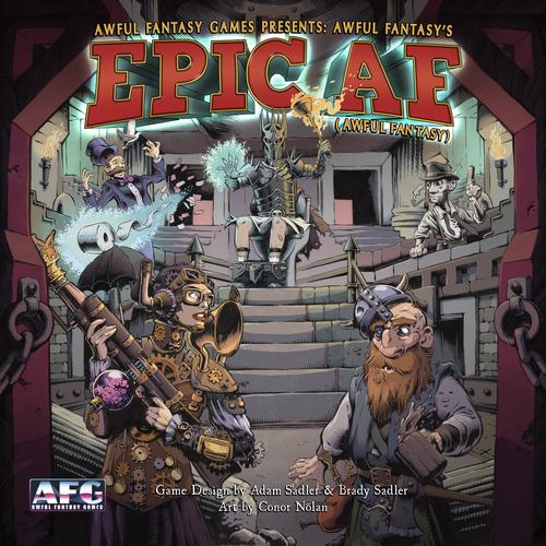 Epic AF jeu de societe ludovox cover