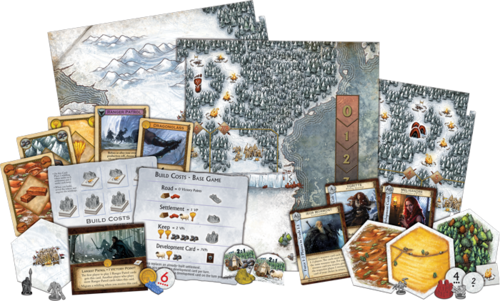 A Game of Thrones Catan – Brotherhood of the Watch