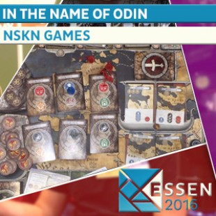 Essen 2016  – Jeu In the name of odin – NSKN Games – VOSTF