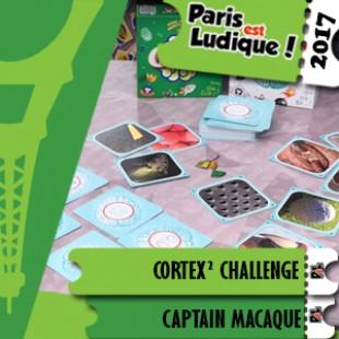 Paris Est Ludique 2017 – Jeu Cortex² Challenge – Captain Macaque