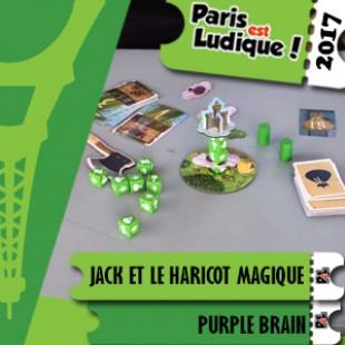 Paris Est Ludique 2017 – Jeu Jack et le haricot magique – Purple Brain