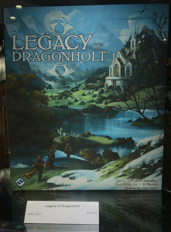 FFG Legacy of dragonholt coop narrative