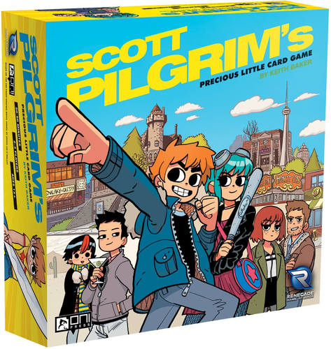 Scott Pilgrim's Precious Little Card Game_jeux_de_societe_Ludovox
