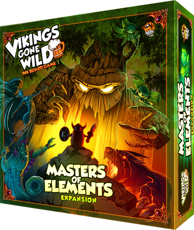 Vikings gone wild master of the elements-lucky duck games-Couv-Jeu de societe-ludovox