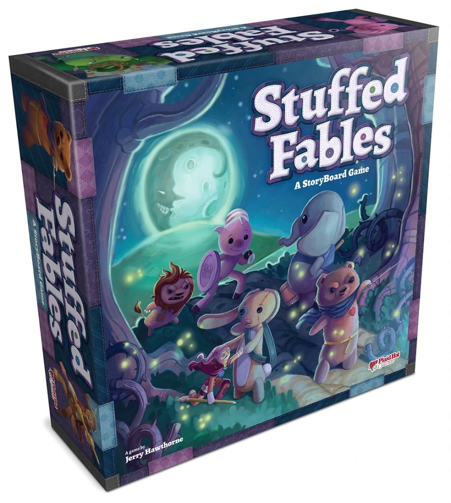stuffed fables plaidhatgames jeu de societe ludovox