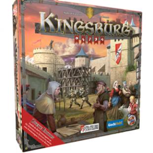 Kingsburg, seconde édition chez Z-man