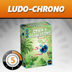 LUDOCHRONO – Sticky Chameleons