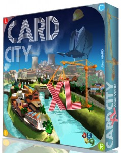 Jeu de societe Card city XL ludovox