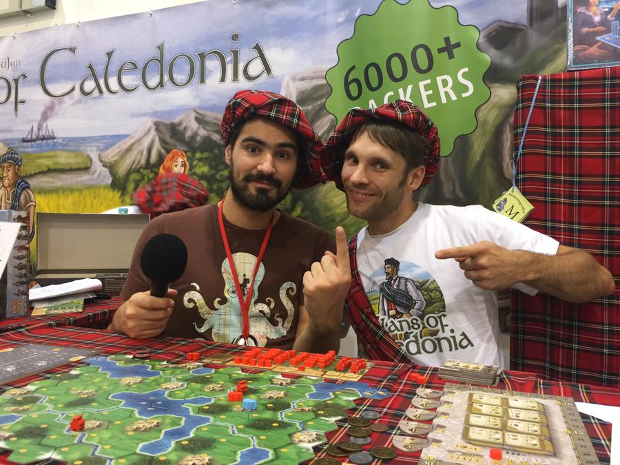 Clans of Caledonia, joli succès pour cette auto-édition