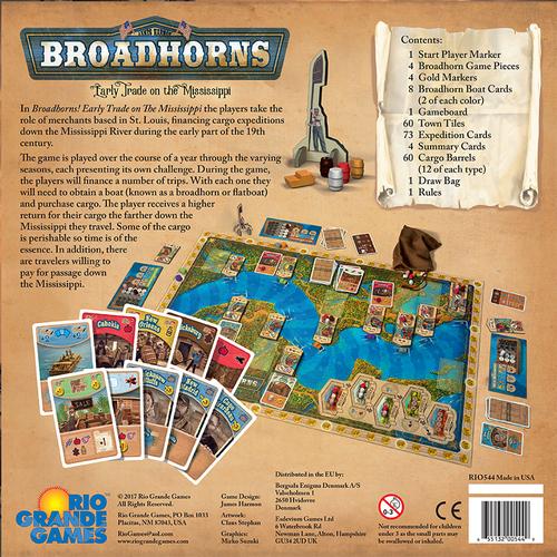 Broadhorns dos de boite