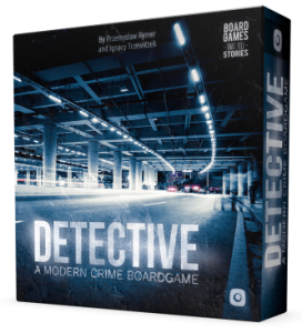 Detective a modern crime boardgame jeu
