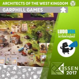 Essen 2017 – Architects of the West Kingdom – Garphill Games – VOSTFR