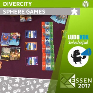 Essen 2017 – Divercity – Sphere Games
