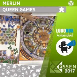 Essen 2017 – Merlin – Queen Games