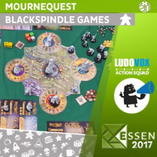 Essen 2017 – MourneQuest – Blackspindle Games  – VOSTFR