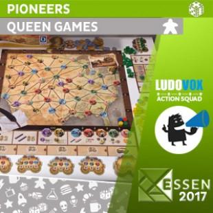 Essen 2017 – Pioneers – Queen Games