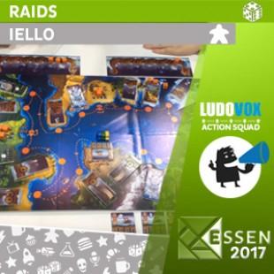 Essen 2017 – Raids – Iello