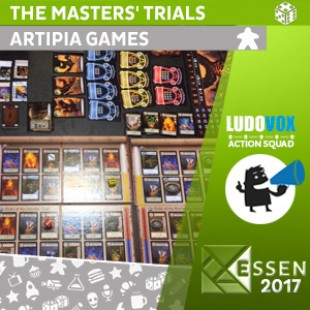 Essen 2017 – The Masters' Trials: Wrath of Magmaroth – Artipia Games – VOSTFR