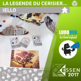 Essen 2017 – La légende du cerisier qui fleurit tous les dix ans – Iello