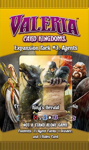 Valeria Card Kingdoms Expansion Pack #03 Agents