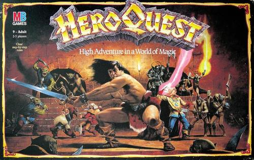 heroquest jeu box