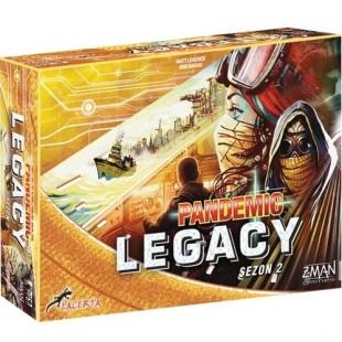 Pandemic Legacy Saison 2 – Quand Pandemic rencontre Waterworld…