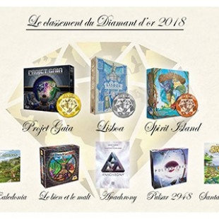 Le prix du diamant d'or 2018