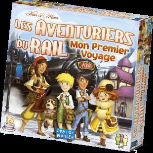 Le test de Les Aventuriers du Rail : Mon Premier Voyage (Europe)