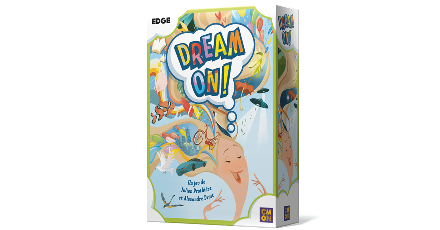 dream on box 3d