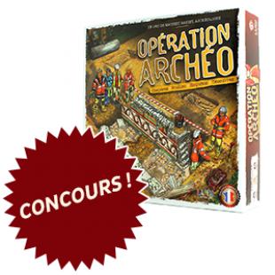 Concours : Opération Archéo
