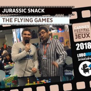 FIJ 2018 –  Jurassic Snack – The Flying Games
