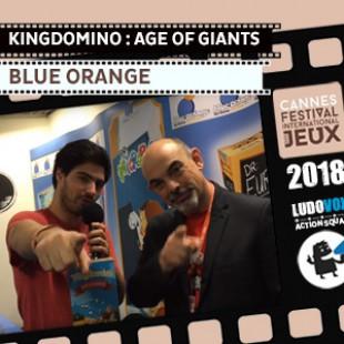 FIJ 2018 – Kingdomino : Age of giants – Blue Orange