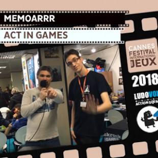 FIJ 2018 – Memoarrr – Act In Games