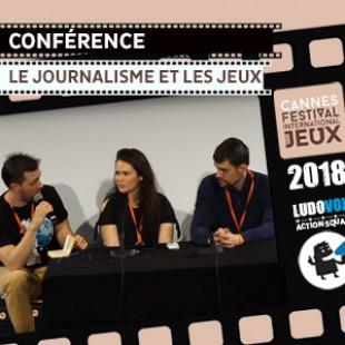 FIJ 2018 – Conférence : Le Journalisme et les jeux