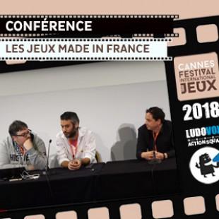 FIJ 2018 – Conférence : Les jeux Made In France