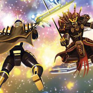 Starship Samurai, Isaac Vega, empereur de la galaxie