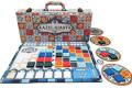 Azul boucle sa valise
