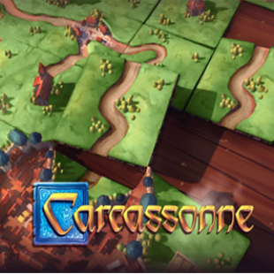 Asmodee sur Switch ! [Carcassonne]