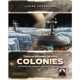 Terraforming Mars, et quelques Colonies