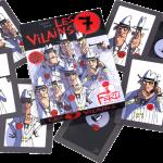 Les 7 vilains cartes