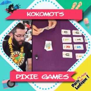 Paris Est Ludique 2018 – Kokomots – Pixie Games