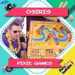 Paris Est Ludique 2018 – Osiris – Pixie Games