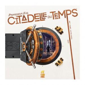 Professor Evil & La Citadelle du Temps-Couv-Jeu-de-societe-ludovox