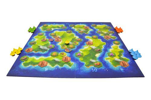 blue lagoon plateau de jeu