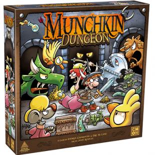 CMON annonce Munchkin Dungeon