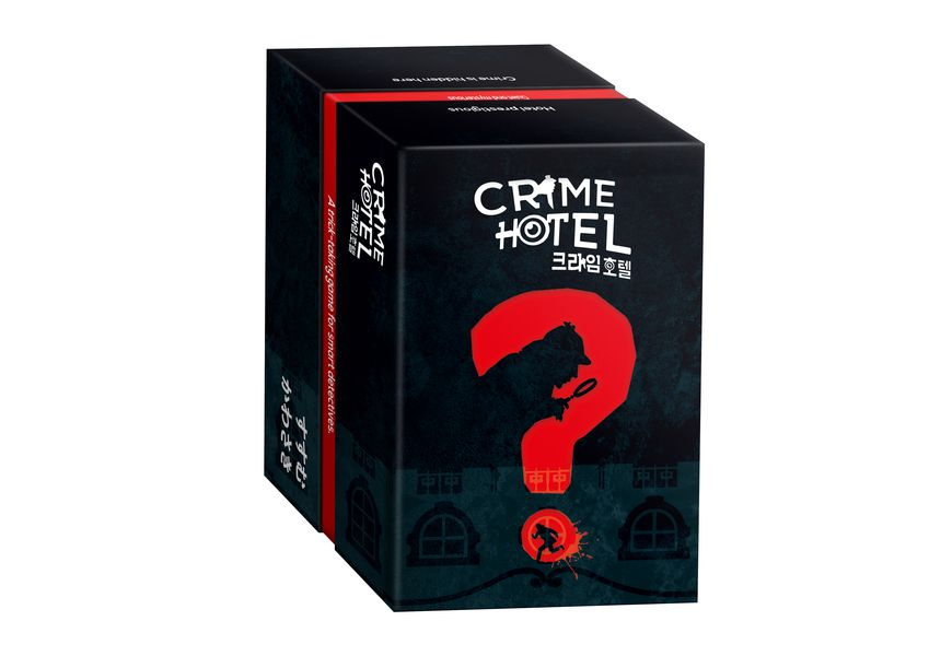 crime hotel boite de jeu